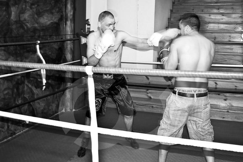 Deportes - Boxeo profesional - Entrenamiento