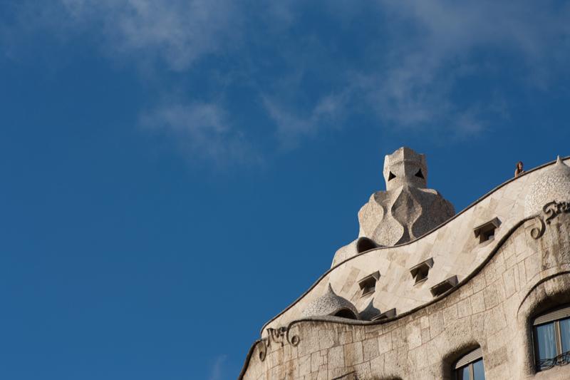 Arquitectura modernista - La pedrera - Casa Mila