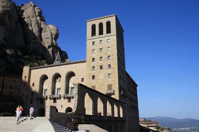 Arquitectura religiosa - Abadia de Montserrat