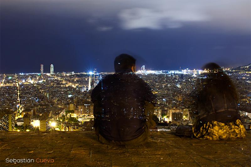Fotografía nocturna y reflexión