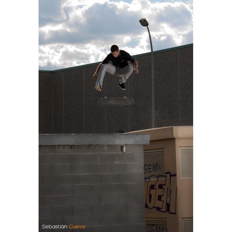 Sesión skateboard - Xavi Pedro Flip formato Vertical
